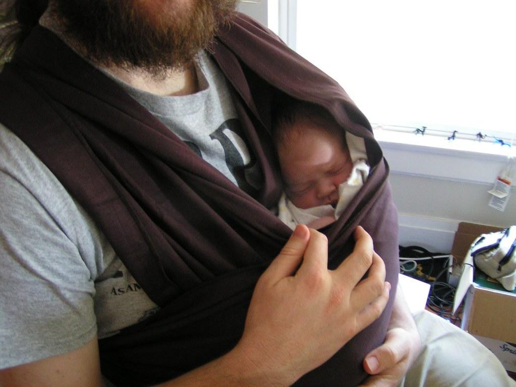 porte-bébé naissance