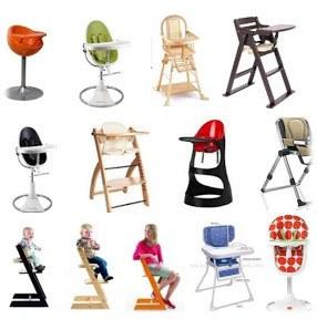 Il existe énormément de modèles de chaises hautes !