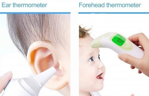 avis test thermometre frontal auriculaire tklovin