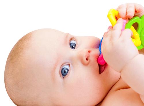 anneau de dentition bebe