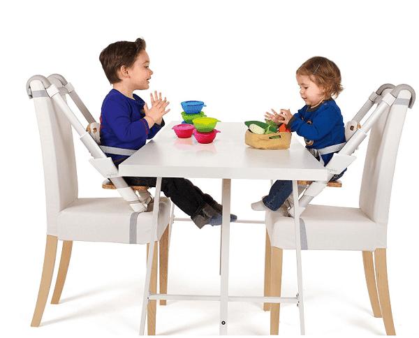 Surveillance bébé à table