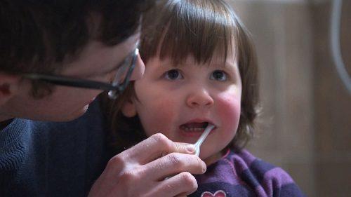 dent de lait dentiste