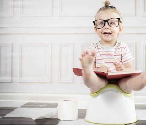 mettre bebe pot livre pedagogique