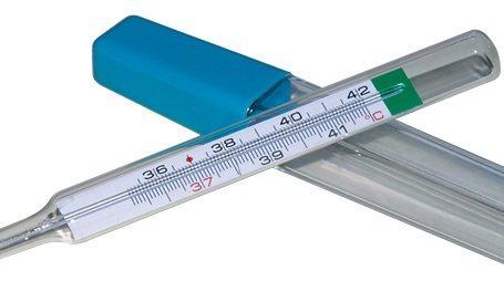 thermometre medical verre gallium