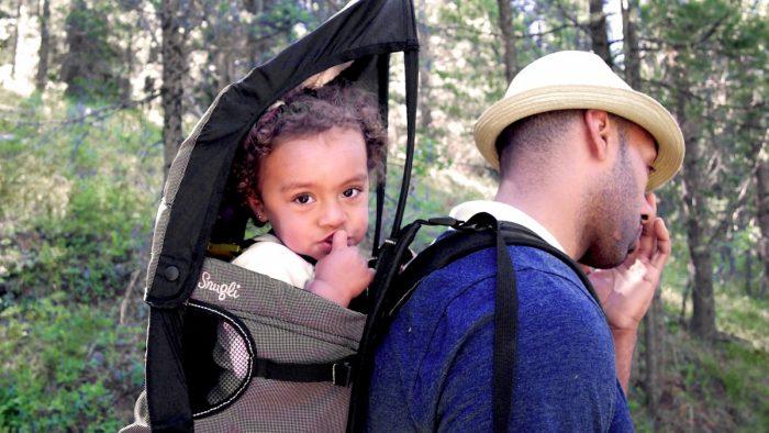 porte-bébé randonnée